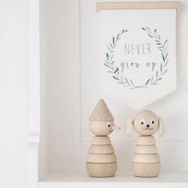 Holzfiguren Set klein