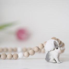 Kinder-Holzkette mit Tieranhänger