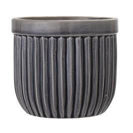 Keramik Übertopf grau
