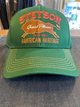 STETSON - Truckercap - Great Plains - green