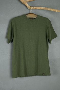 IRON HEART - IHT-1610-WHT 6.5OZ LOOPWHEEL T-SHIRT - green