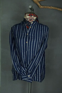 Scarti Labw - Fisherman shirt W509-SM296 HERRINGBONE STRIPES