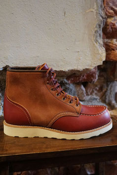 RED WING - 8819 MOC TOE - ORO RUSSET PORTAGE & ORO RUSSET ABILANE