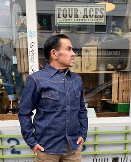 Samurai Jeans - KAMOME* - Denim Westernhemd
