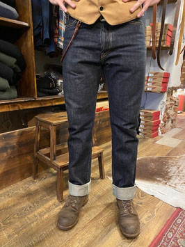 IRON HEART - 888-S - 21OZ SELVEDGE DENIM - straight tapered - INDIGO