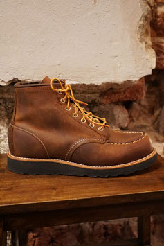 RED WING - 8886 MOC TOE - COPPER ROUGH & TOUGH