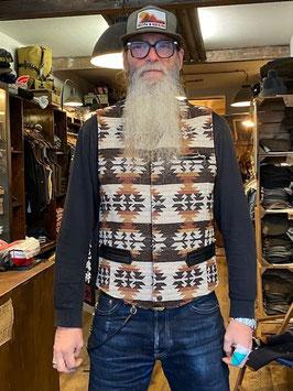 shangri la - Desert Navajo Mandriano Wool Vest