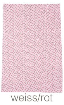 Geschirrtuch / Handtuch mit Blumen Muster