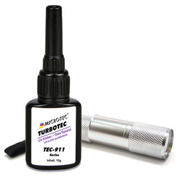 Turbotec 911 Glas Spezial UV-Kleber und UV-Lampe