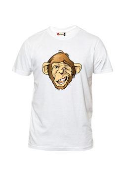 Gekke aap cartoon