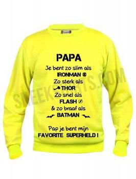 Papa je bent..