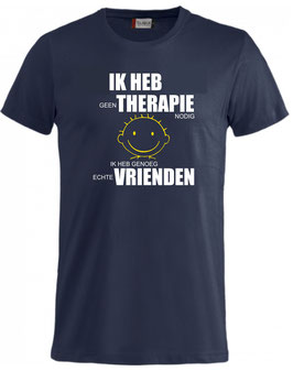 Ik heb geen therapie nodig...