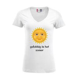 Gelukkig is het zomer