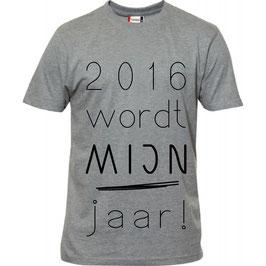 2016 wordt mijn jaar