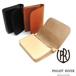 パイロットリバー/PAILOT RIVER ショートウォレット PR-KUJIRA-MW