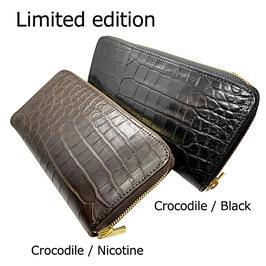 SHLW-due【Crocodile×Saddle Pull Up Leather】