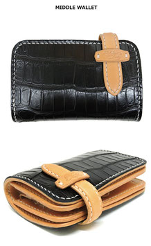 MIDDLE WALLET(ST) SHOP LTD(Crocodile)