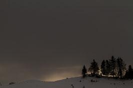 Sonnenuntergang Schlatt-Haslen 2