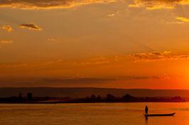 Boot bei Sonnenuntergang - Madagaskar 4