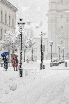 St. Gallen im Schnee 3