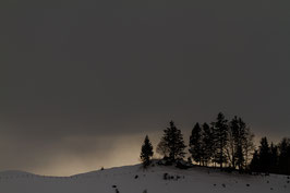 Sonnenuntergang Schlatt-Haslen 1