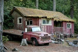 Haus mit Pickup - USA