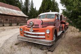 Feuerwehrauto Nostalgie USA 1
