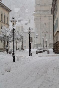 St. Gallen im Schnee 2