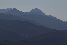 Bergshilouetten blau - Korsika 1