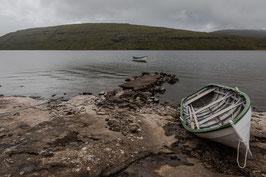 Boot auf den Färöer Inseln