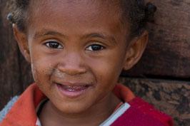 Kleines Maedchen aus Madagaskar
