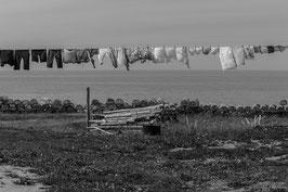 Wäscheleine in Neufundland