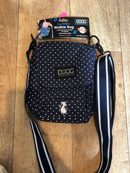WALKIE BAG + 20 KOTBEUTEL BLAU/ POLKA DOTS