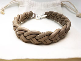 HALSBAND HELL TAUPE