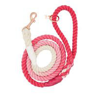 ROPE LEASH OMBRE PINK