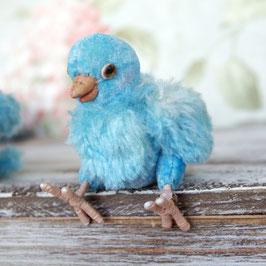 商品名:青い小鳥さん(ローズクオーツ)
