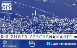 "Pro Zug Geschenkkarten-Sujet ""Stadt"""