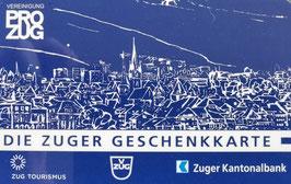 Pro Zug Geschenkkarte Sujet Stadt