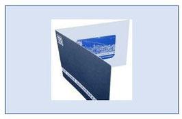Faltverpackung Pro Zug, blau, 1 Stück