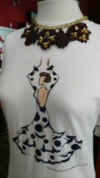Camiseta Caja Flamenca Lunares