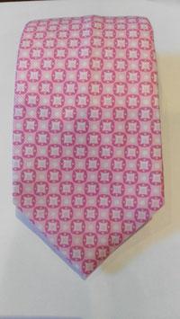 Corbata estampada Rosa MAESTRANZA