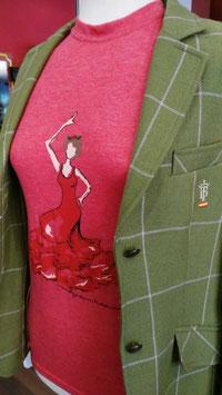 Camiseta Caja Famenca Roja