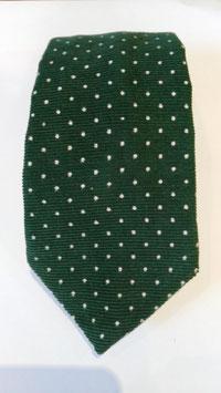 Corbata MAESTRANZA. Verde y topos.