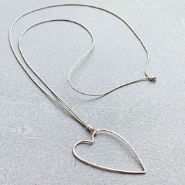 Halsband mit Herz - 925 Sterling Silber