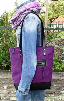 """Tasche """"Grenoble"""" violett"""