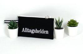 """Schminktasche """"Alltagheld schwarz"""""""
