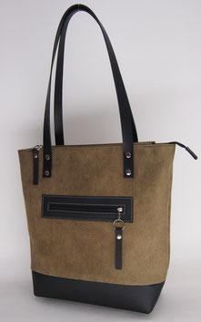"""Tasche """"Grenoble"""" vintage braun grün"""