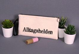 """Schminktasche """"Alltagsheld weiß"""""""