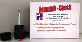 Raumluft-Check VOC & Lösungsmittel