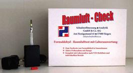 Raumluft-Check Formaldehyd